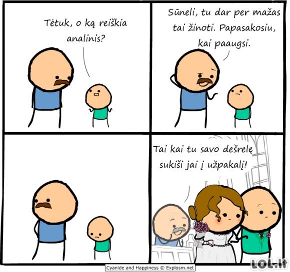 Kai vaikas paauga...