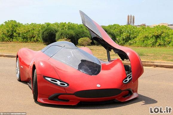 Jaunuolis už 4,5 tūkst. eurų susikūrė superautomobilį