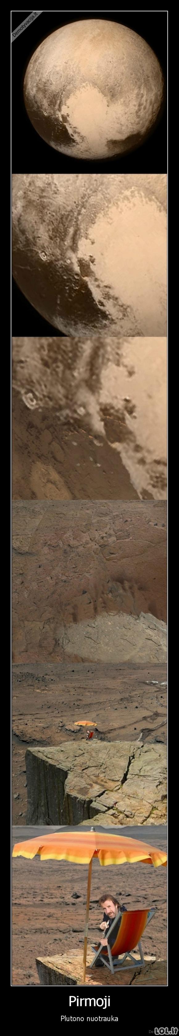 Neįtikėtinas radinys ant Plutono paviršiaus