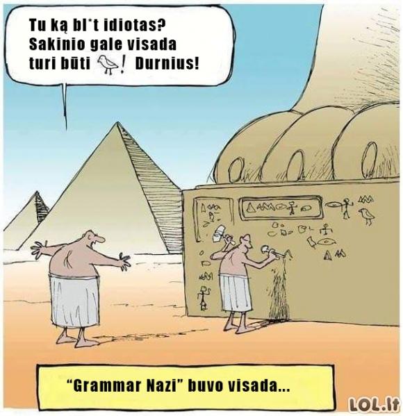 Grammar Nazi istorija