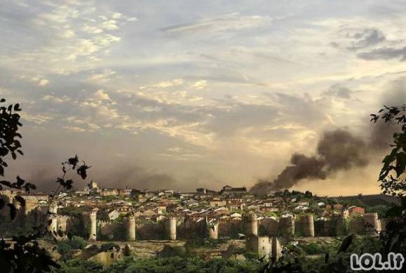 Kaip žemė pasaulis po pasaulio pabaigos?