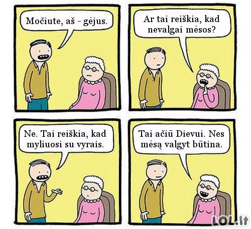 Skaudžiausia žinia močiutei