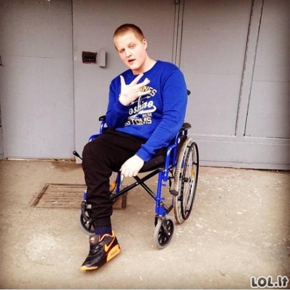 Trauma vaikiną paskatino keisti gyvenimo būdą