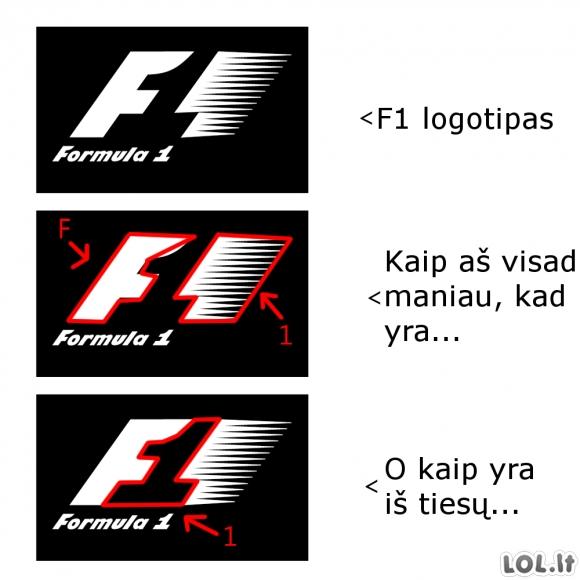 F1 logotipo mistika