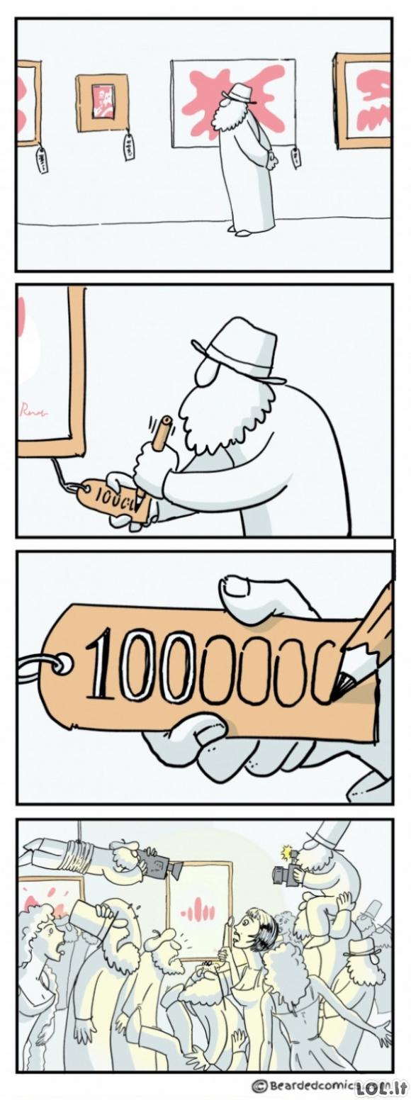Viską sprendžia kaina