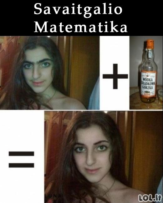 Savaitgalio matematika