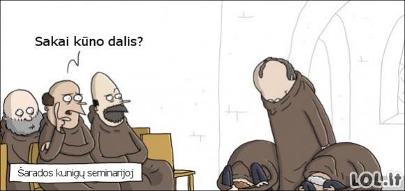 Kaip vienuoliai leidžia laisvą laiką