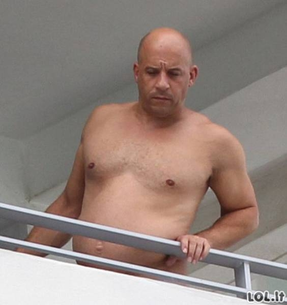 Vin Diesel atsakas interneto pašaipūnams