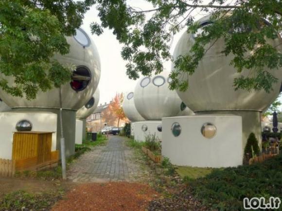 Namai - burbulai Olandijoje