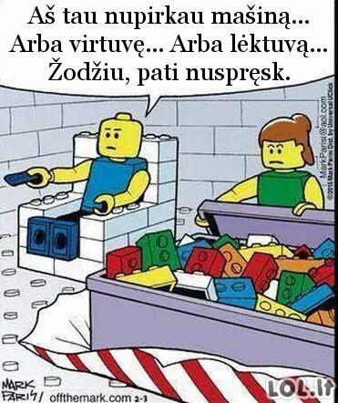 Dovanos LEGO pasaulyje
