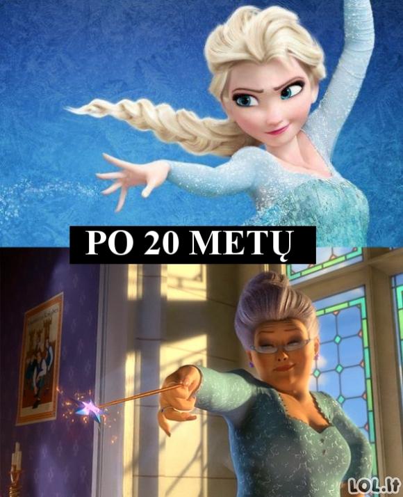 Kuo tapo Elsa?