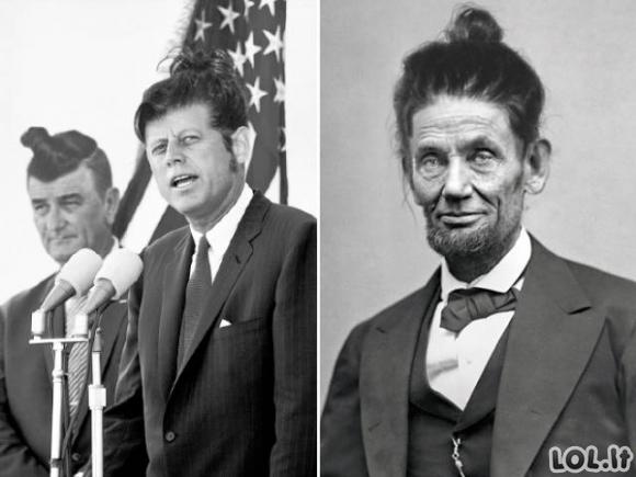 Jei pasaulio lyderiai nešiotų šiuolaikiškas šukuosenas