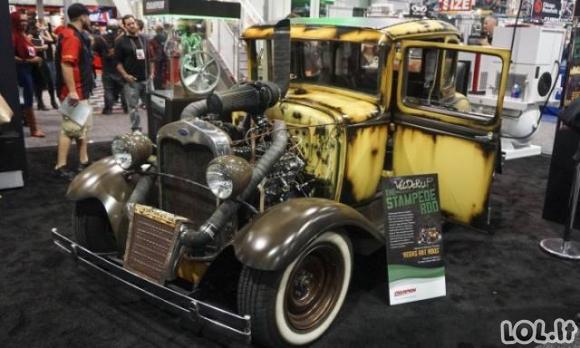 Įspūdingiausi modifikuoti automobiliai