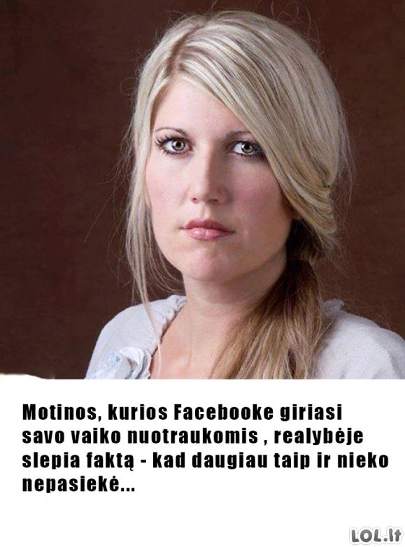 Facebookinės motinos