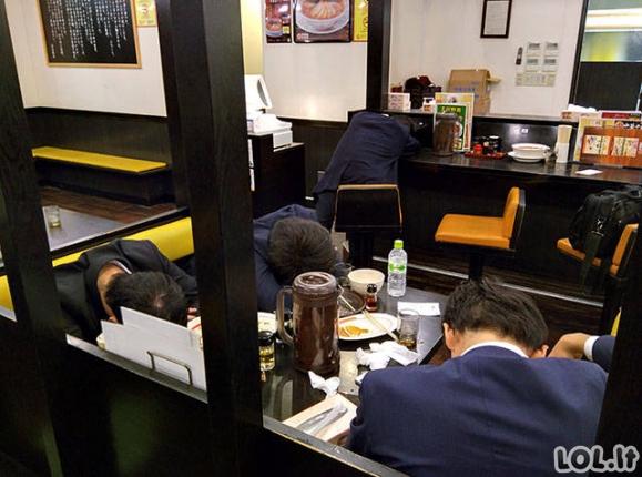 Įprastas vaizdelis Japonijoje