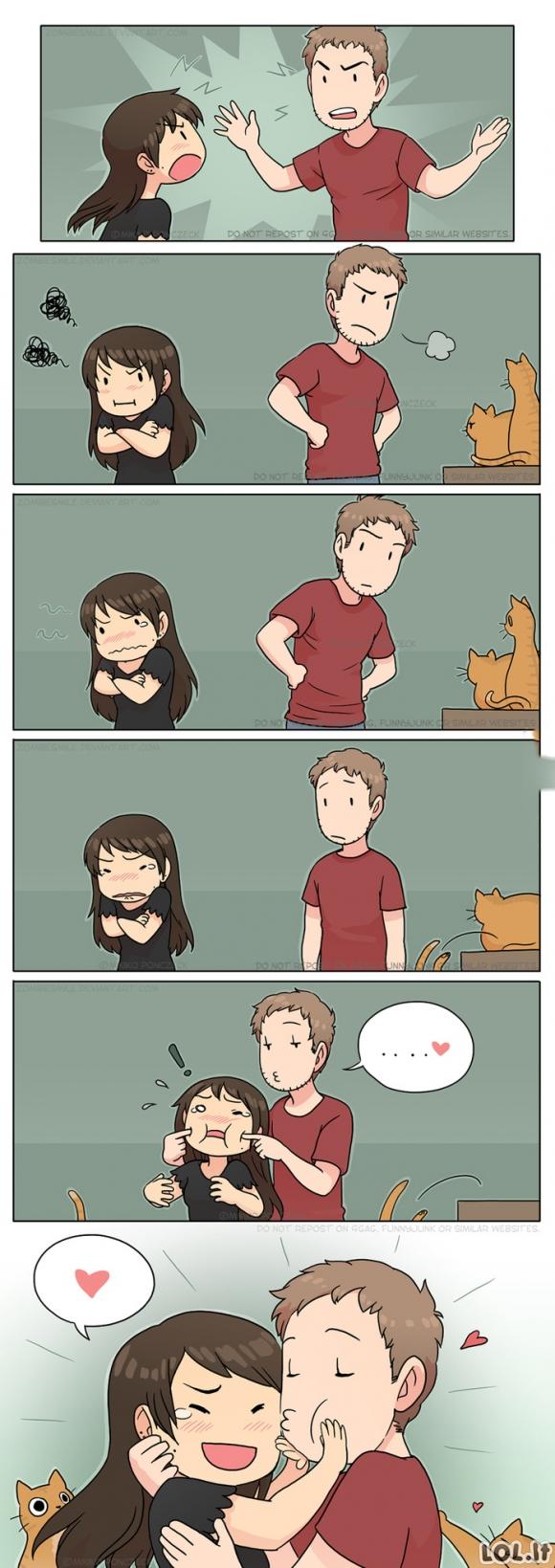 Kaip nuramint piktą merginą?
