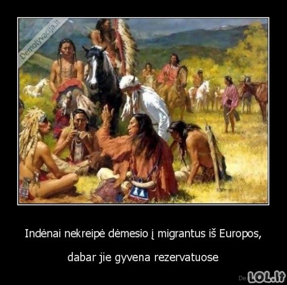 Imigrantų pavojus
