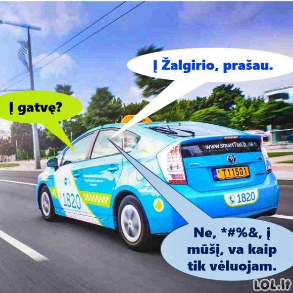 Pokalbis su taksistu