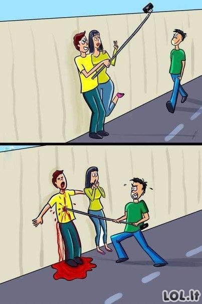Selfie žudo