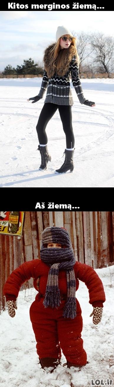Žiemos mados