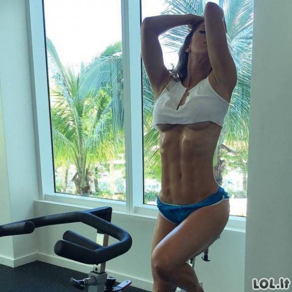 Sportiškų merginų rinkinys