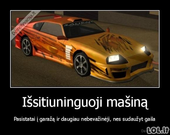 GTA žaidėjų logika