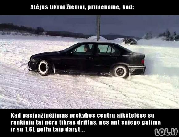 NETIKRAS driftas