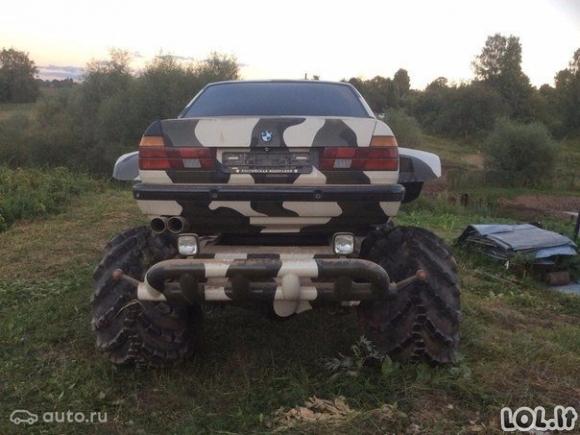 BMW: Monstras