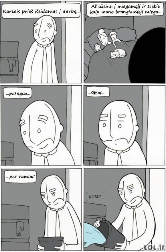 Kiekvieno ryto pagundos