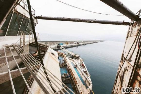 Pasivaikščiojimas po Costa Concordia vidų...