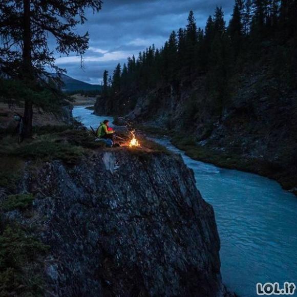 Keliautojų užfiksuoti nuostabiausi gamtos kampeliai