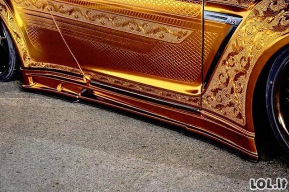 Elegantiškas automobilių tiuningas