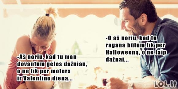 Vyriški ir moteriški norai