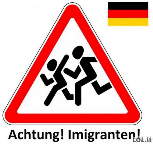 Nauji kelio ženklai Vokietijoje