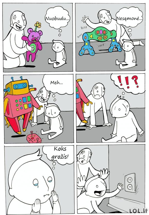 Mėgstamiausias vaikų žaislas
