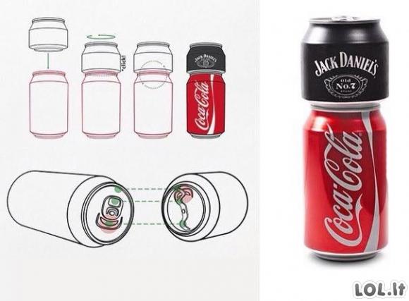 Jeigu Cola bendradarbiautų su Jack Daniels
