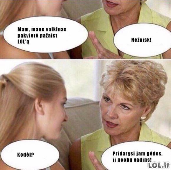 Auksinis mamos patarimas