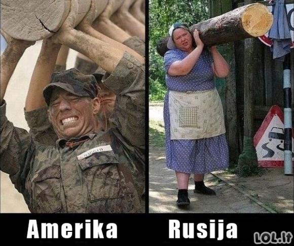 Amerika vs Rusija
