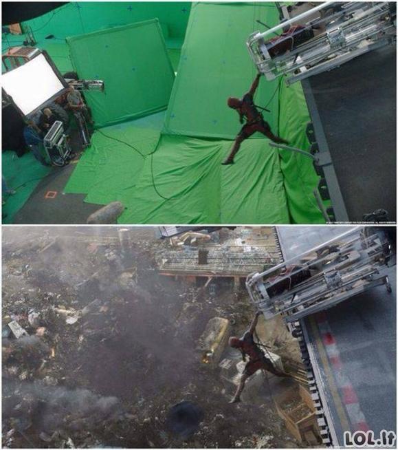 """Kaip buvo statomas filmas """"Deadpool""""?"""