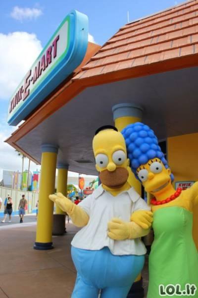 Simpsonų miestas realybėje