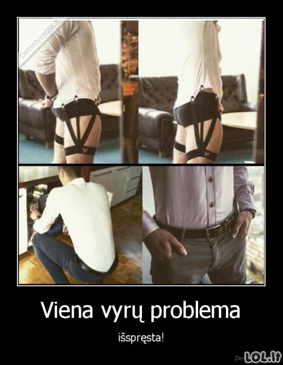Vyrų problemos sprendimas