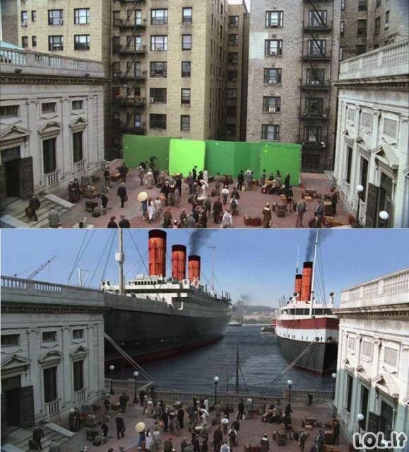 Šiuolaikinių filmų gamyba