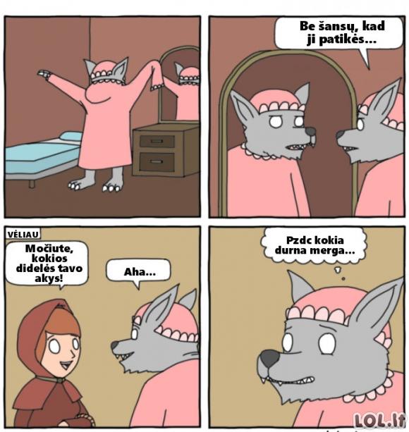Kvaila Raudonkepuraitė