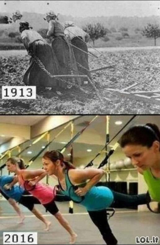 Sportas tada ir šiandien