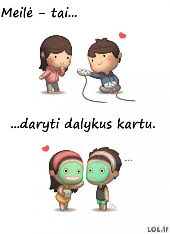 Kas yra meilė? [12 paveikslėlių]