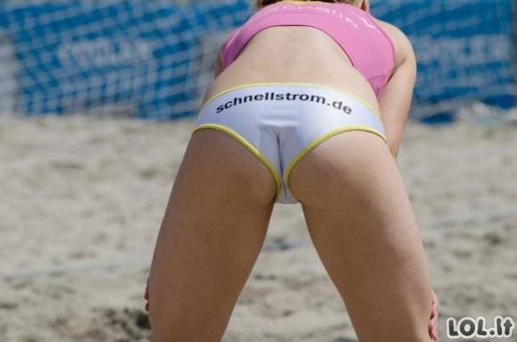 Kodėl vyrams patinka moterų sportas