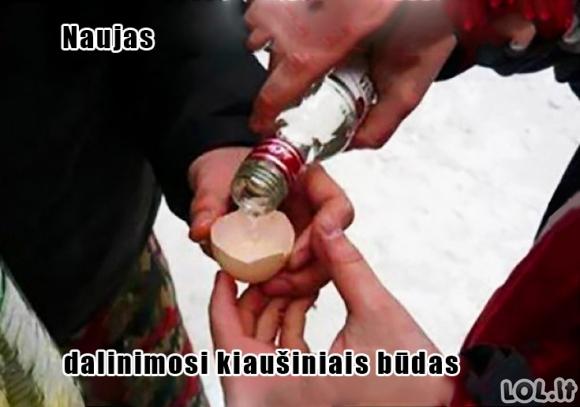 Alkonautų Velykų tradicijos