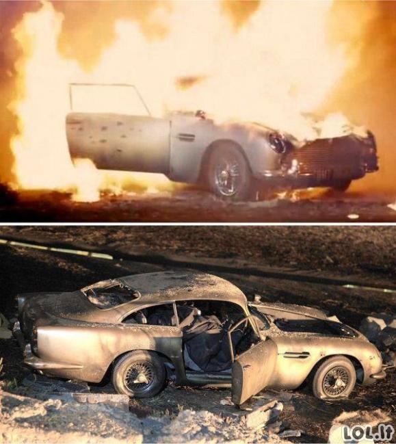 Kaip buvo filmuojamas Bondo filmas?
