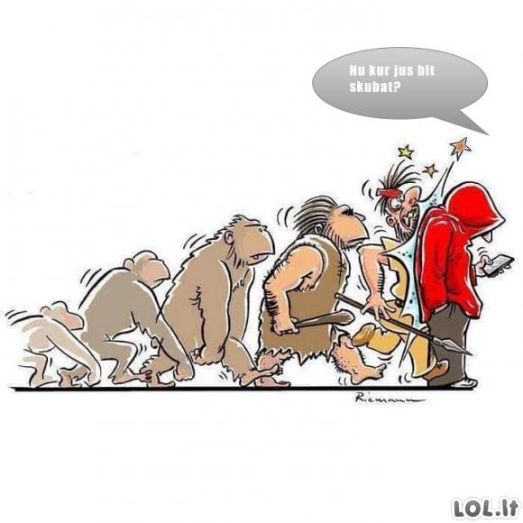 Kodėl sustojo evoliucija