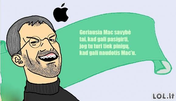 Geriausia Mac savybė